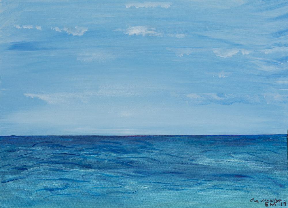 "Cape Cod Water 11""x14""Original Composition 5,700$/ Print 2,400$"