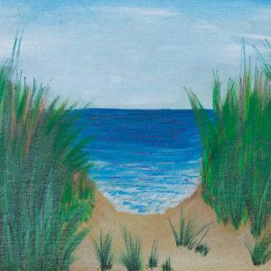 "Sea View 11""x14"" Original 1450$/ Print 480$"