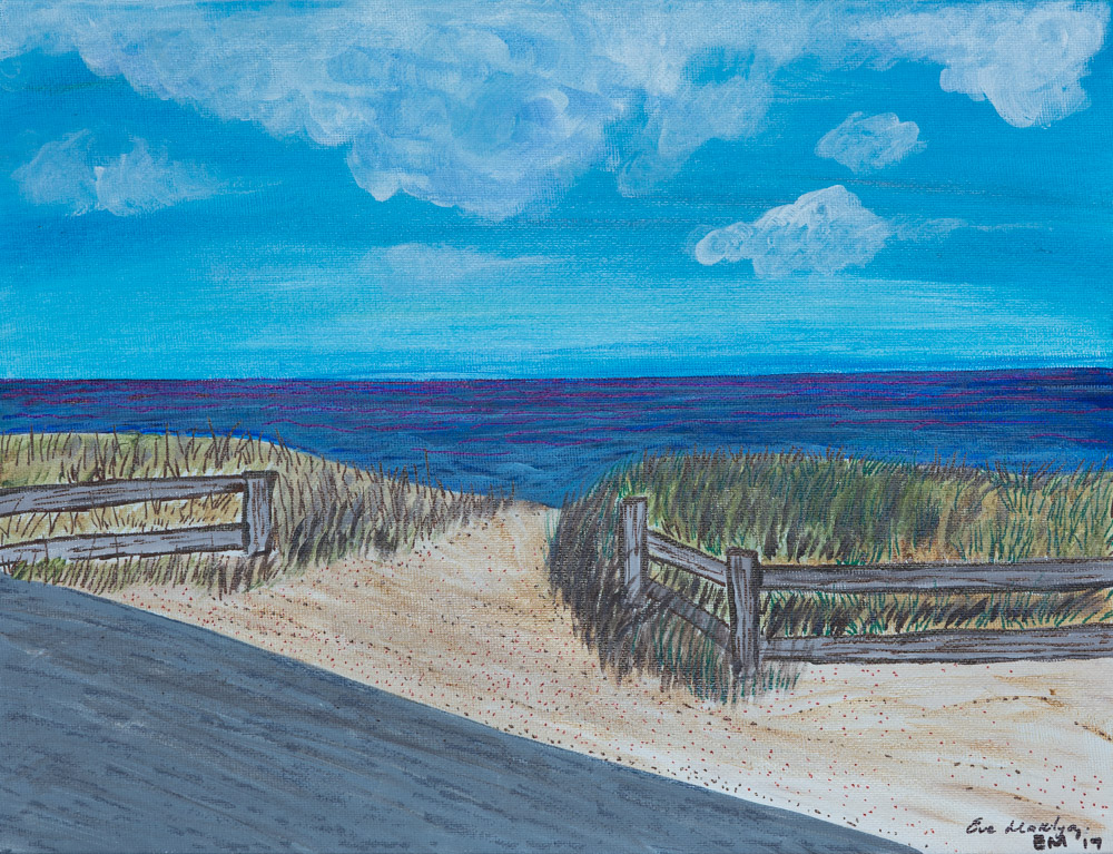 "11""x14""Martha's Vineyard Roadside Original Composition 7500$/ Print 1350$"