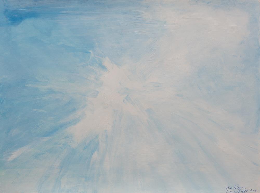 """Sky Light 18""""X24""""Original Composition 11,000$/ Print 5,990$"""