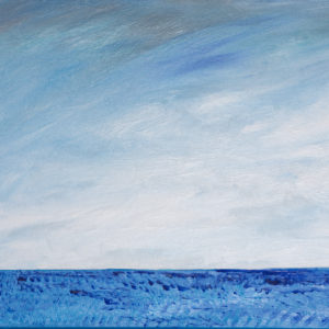 Abstract Blue (Acrylic painting) Original 6800$ Prints 2500$